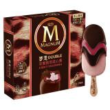 梦龙 双重脆层流心酱红 覆盆子口味 冰淇淋 216g *4件 87.24元(合21.81元/件)