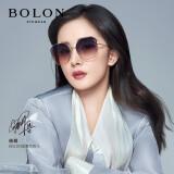 BOLON暴龙眼镜杨幂同款太阳镜女款2021年不规则渐变墨镜情人节礼物 BL7131A63 598元