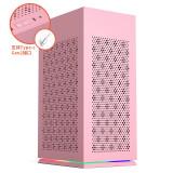 aigo 爱国者 YOGO S1 小新桌面迷你电脑机箱 粉色 合399元到手(晒单返元E卡)