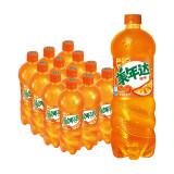 美年达可乐 Mirinda 橙味 汽水碳酸饮料 1L*12瓶 整箱装 新老包装随机发货 百事出品 *3件 100.4元(合33.47元/件)