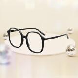 木九十时髦方圆板材镜框素颜大框男女镜架MJ102FF405BKC1 232.33元(需买3件,共697元,需用券)