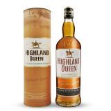 高地女王(HighlandQueen)苏格兰3年调和威士忌英国进口洋酒700ml*3件