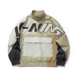 李宁外套男装2021运动时尚系列男子宽松运动风衣AFDR025 648.1元