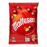 澳大利亚进口麦提莎(Maltesers)麦丽素麦芽脆心牛奶巧克力144g/袋内含12小袋迷你装*6件