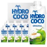 海多可可(HYDRO COCO)椰子水 椰子汁 天然椰汁 330ml*12瓶 整箱 进口饮料果汁 *2件 70元(需用券,合35元/件)