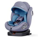贝思贝特(besbet)儿童安全座椅0-12岁汽车用婴儿宝宝360度旋转BW19-TT薄雾蓝 950元(需用券)