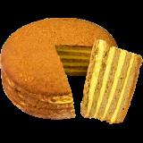 俄罗斯提拉米苏千层蛋糕巧克力奶油500g脏脏包果仁大列巴面包早餐甜品零食品礼盒 国产款俄罗斯风味奶油味450g*3盒 29.9元