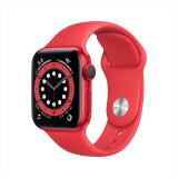 PLUS会员:Apple 苹果 Watch Series 6智能手表 GPS+蜂窝款 40mm 红色 3699元包邮