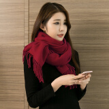 Piruity 女士围巾仿羊绒秋冬季新款韩版百搭 29.9元(需用券)