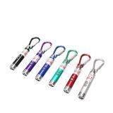 萌嘟星宠激光笔逗猫棒紫光灯验钞笔红外线指示器猫咪玩具LED强光灯三合一款*32件