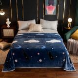 圣美娜 毛毯 冬季保暖云貂绒毛毯 150*200cm 49.9元