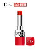迪奥(Dior)口红烈焰蓝金红管777橘调水红色唇膏3.2g(口红半哑光波普暖红亮红色)进口超市*2件