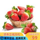 京东PLUS会员:田园居 天仙醉奶油草莓 净含量1kg 64元包邮(双重优惠)
