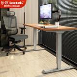 乐歌呵护腰椎站立办公电动升降桌学习桌亲子桌电脑桌办公桌家用写字书桌E4/1.8m胡桃木色套装 2599元