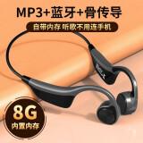 赛尼尔(Sainyer)B2骨传导蓝牙耳机无线运动跑步骑行挂耳式骨传感随身MP3式自带内存适用苹果华为小米手机*2件 278元(合139元/件)