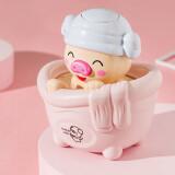 鹤吟川 婴儿沐浴玩具小乌龟 3只装 9.9元(包邮,需用券)