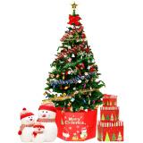 爸爸妈妈(babamama)圣诞树套餐圣诞节装饰品挂件礼物 1.5米豪华套装发光彩灯150CM ZFX9001 59.84元