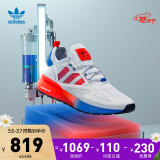 adidasOriginalsZX系列ZX2KBOOST中性休闲运动鞋FV9996白/蓝/荧光红41 819元(需用券)