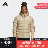 adidas 阿迪达斯 GE6101 男士户外休闲棉服 低至359.2元包邮(需用券)