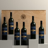 露颂 澳洲原瓶原装进口红 干红葡萄酒礼盒 南澳16度睿品设拉子整箱750ml*6 438元(需用券)