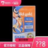 京东PLUS会员:solid gold 金装素力高猫粮 全猫粮 12磅/5.44kg 278元包邮(需用券)
