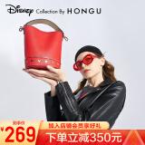 HONGU 红谷×迪士尼米奇联名款 Z5200149 女士时尚手提包 239元包邮(需用券)