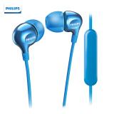 飞利浦(PHILIPS)耳机入耳式 有线 音乐耳机 带麦克风线控耳机 SHE3705LB 49元(拼团价,2人成团)