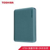 TOSHIBA 东芝 V10系列 USB3.0 2.5英寸移动硬盘 4TB 琉璃绿 699元包邮