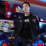 李宁外套男装2020李宁XQQ炫舞联名系列男子加绒宽松夹克AJDQ473 789元