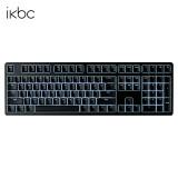 ikbcR300机械键盘PBT键帽cherry樱桃轴白色背光游戏键盘黑色红轴 284元(需用券)