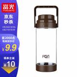 18点开始:Fuguang 富光 塑料杯 咖啡色 1500ml 9.9元包邮(前2000名,需用券)