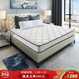 20日0点:SLEEMON 喜临门 极光白 椰棕弹簧床垫 180*200*20cm 1399元包邮