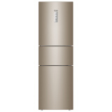 海尔 (Haier )223升变频风冷无霜三门冰箱 干湿分储中门全温区变温DEO净味系统BCD-223WDPT 2599元