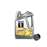Mobil 美孚 途虎养车 小保养套餐 美孚 1号 全合成机油 5W-30 SN级 4L+机滤+工时 299元(需用券)