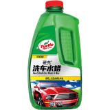 龟牌(Turtle Wax)G-4008R1龟牌硬壳洗车液水蜡汽车清洁剂浓缩泡沫用品美容大桶去污上光打蜡 1.25L 单瓶 100元(合12.5元/件)