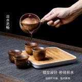 xigu 熹谷 祥龙旅行茶具 一壶四杯 82元包邮(需用券)