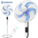 AIRMATE 艾美特 艾美特(Airmate)立式五叶大风量遥控落地扇/家用通风节能电风扇/定时遥控风扇 FS40103R 160.25元(需买4件,共641元)
