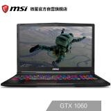 微星(msi)GE63 15.6英寸游戏本笔记本电脑(i7-8750H 8G*2 1T+256G SSD GTX1060 6G 120Hz 3ms 单键RGB 黑) 10499元
