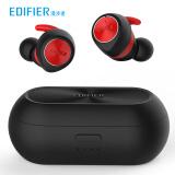 漫步者(EDIFIER)TWS3 真无线蓝牙耳机 运动耳机 迷你入耳式手机耳机 通用苹果华为小米手机  黑红色 199元