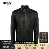 双11预售、20日20点:HUGO BOSS 雨果博斯 男士机车衣夹克 50411787 3299元包邮 (前4小时)