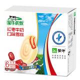 蒙牛 优牧 红枣牛奶口味雪糕冰淇淋 70g*6支 家庭装 9.25元