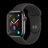 Apple Watch Series 4智能手表(GPS+蜂窝网络款 44毫米深空灰色铝金属表壳 黑色运动型表带 MTVU2CH/A) 4199元
