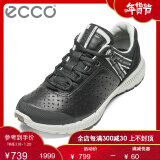 ECCO爱步时尚运动休闲鞋女 舒适透气牛皮女鞋 盈速踪迹系列861013 黑色86101351707 36 719元