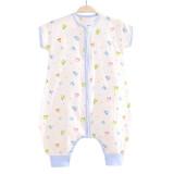 象宝宝(elepbaby) 婴儿睡袋夏季全棉纱布薄睡袋 汽车总动员70x35cm(适合身高80cm以内) *2件 59元(合 29.5元/件)