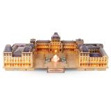 乐立方立体拼图 3D拼图积木 儿童创意立体拼插模型 早教手工玩具 卢浮宫-灯饰 L517h 112元