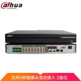 大华(Dahua)16路HDCVI同轴百万高清主机1080P监控硬盘录像机5混模拟主机DH-HCVR5216A-V5(含3TB监控硬盘) 1535元