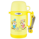 TIGER/虎牌儿童保温杯卡通真空杯不锈钢保冷杯 MCG-A05C 黄色YT 159元
