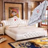 3399元 奥左 欧式牛皮双人床 1.8*2米 每 满1100元 减300元