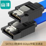 SAMZHE 山泽 3UL-05B 高速SATA3代双通道硬盘数据线 0.48米 14.9元