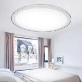 HAIDE 海德照明 LED吸顶灯 方形银系列 24W 白光 79元